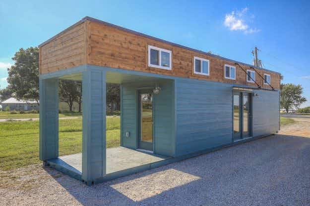 Would you consider a converted shipping container as your new holiday home?