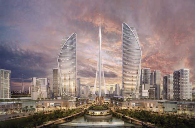Ground broken in Dubai on THE TOWER, set to dwarf the Burj Khalifa