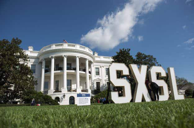 Here's what happened at the South by South Lawn festival thrown by the White House