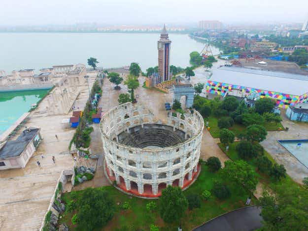 Chinese park unveils 50 miniature replicas of some of the most famous landmarks in the world