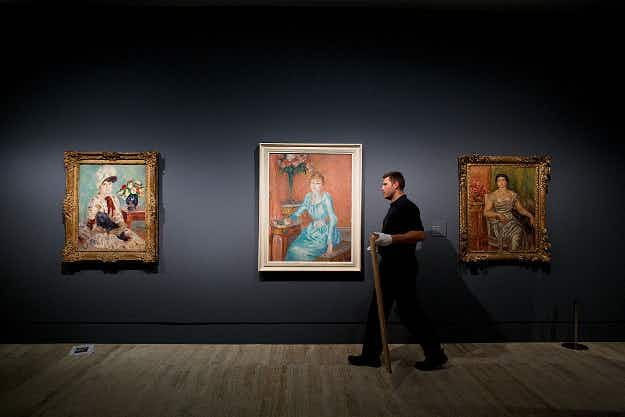 In Pictures: see a preview of a new Renoir exhibition in Madrid