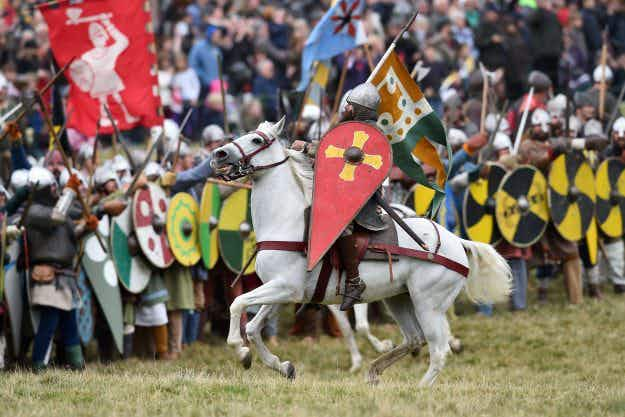 In pictures: over one thousand people re-enact the Battle of Hastings for 950th anniversary