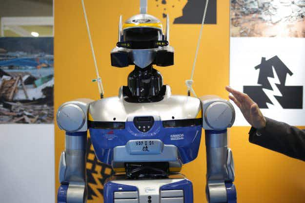 A glimpse at incredible gadgets of the future at Japan Robot Week