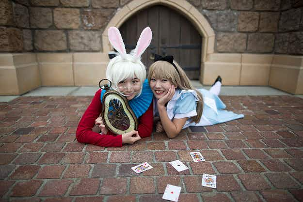 In Pictures: Halloween-lovers head to Tokyo Disneyland in incredible costumes