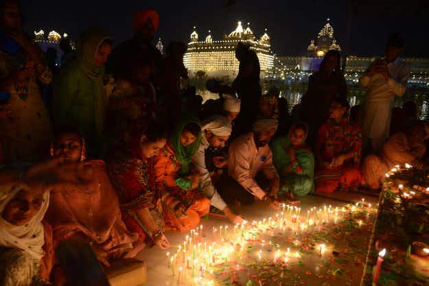 Diwali 2016: see the Indian festival of light celebrated in pictures
