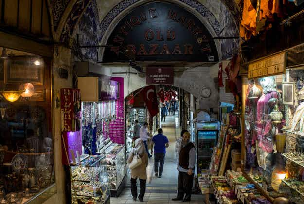 Istanbul's famous Grand Bazaar will open on Sundays for the first time