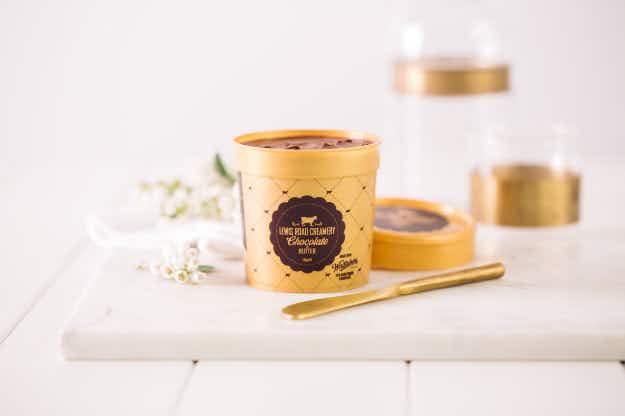 A New Zealand creamery has made the world's first chocolate butter