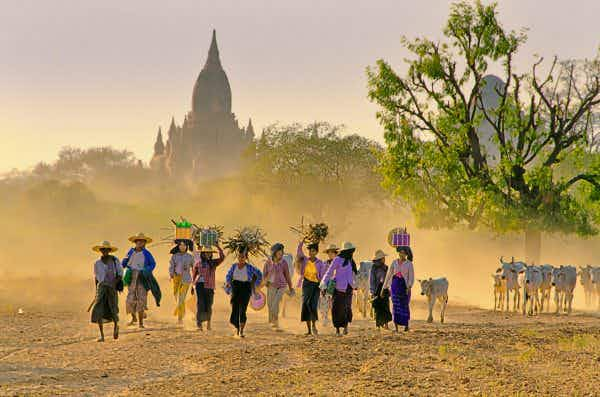 Myanmar is named the world's most generous country for the third year in a row