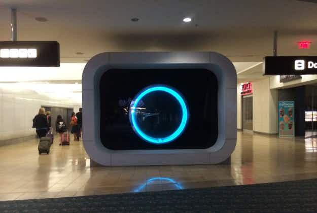 Orlando airport plans world's biggest customer information screen