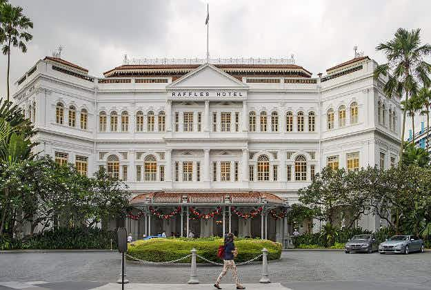 Singapore's Raffles Hotel to undergo major 18-month-long facelift