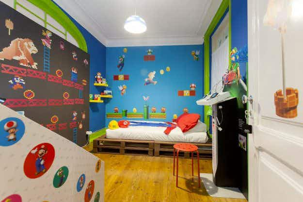 You can stay in this amazing Super Mario themed Airbnb in Lisbon