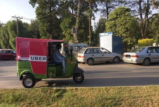 Uber to revolutionise travel in Lahore with fixed-fare rickshaws