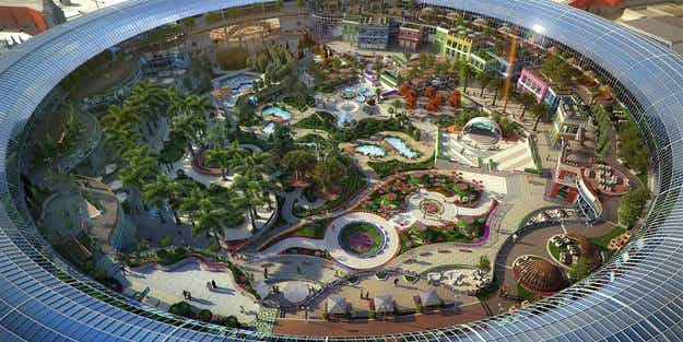 Dubai will build the 'world's first nature-inspired mall' featuring botanical wonders