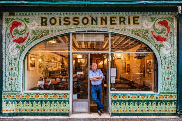 These photos capture the charming, colourful facades of independent Parisian shops