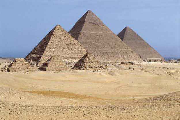 Is there a secret hidden chamber deep inside the Great Pyramid of Giza?
