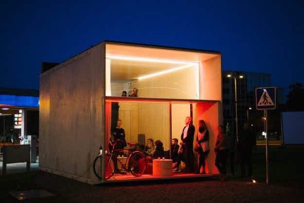 This tiny house can be dismantled and reassembled in seven hours to travel with you