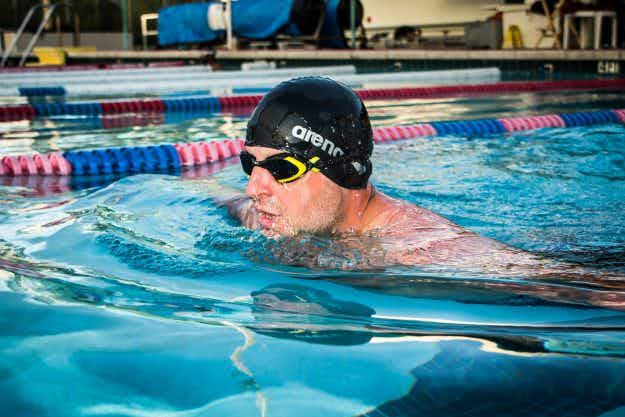 Meet the man attempting to swim across the Atlantic Ocean in four months