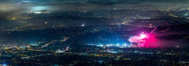 Photographer shares stunning panoramic time-lapse video showing LA in all its glory