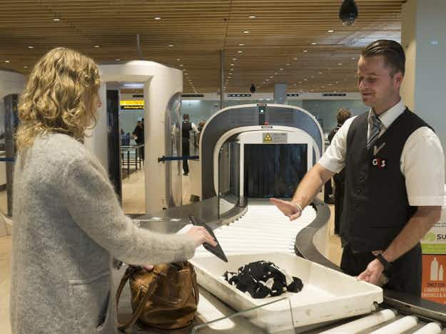 Amsterdam's airport is testing security tech that will let you leave liquids and laptops in your bag