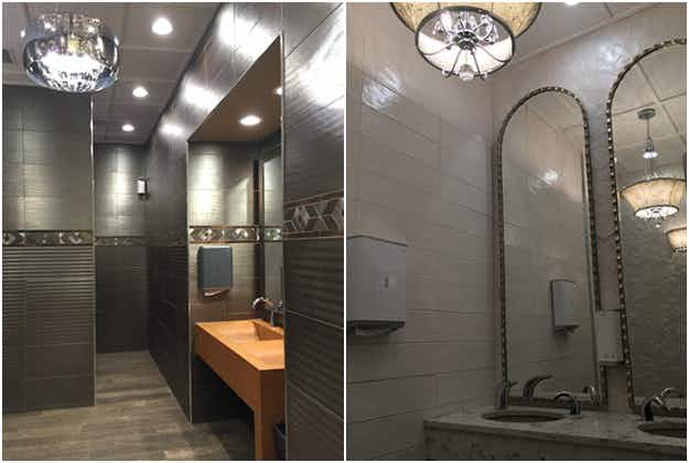 On a road trip through Canada? The country's best restroom is in a gas station