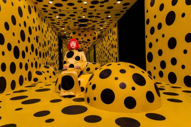 Best places to see the famed Japanese artist Yayoi Kusama and her artwork