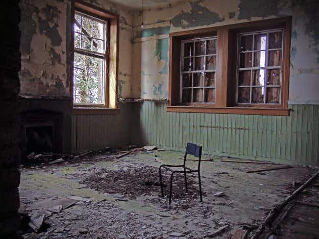 The haunting beauty of abandoned schoolhouses across rural Ireland