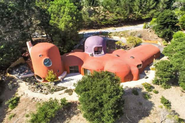 Have a yabba dabba doo time when you stay in the Bay Area's iconic Flintstone house
