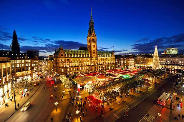 Bet you can't guess the essential elements of a good Christmas market according to the experts: Germans