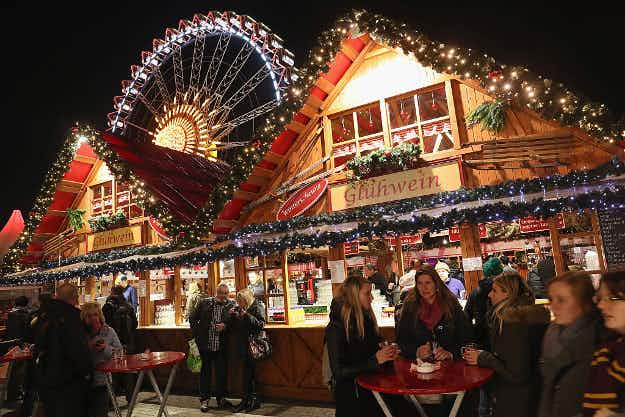 In Pictures: get ready for the holidays as Christmas markets open in Germany