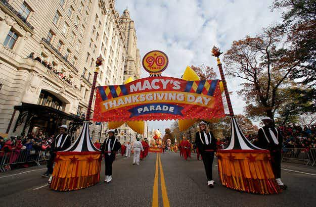 In pictures: Macy's 90th annual parade leads the US Thanksgiving celebrations
