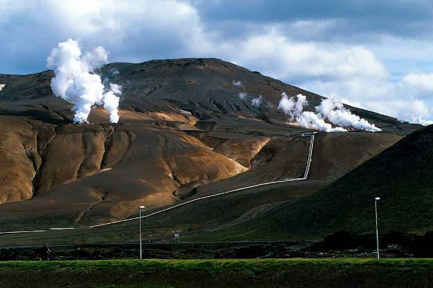Ambitious plan unveiled for Iceland's volcanoes to power British homes by 2022