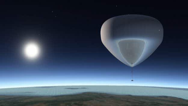 A Spanish tech firm plans to send tourists to space – inside giant balloon