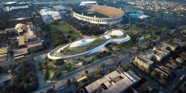 San Francisco and LA compete to win battle for proposed George Lucas museum