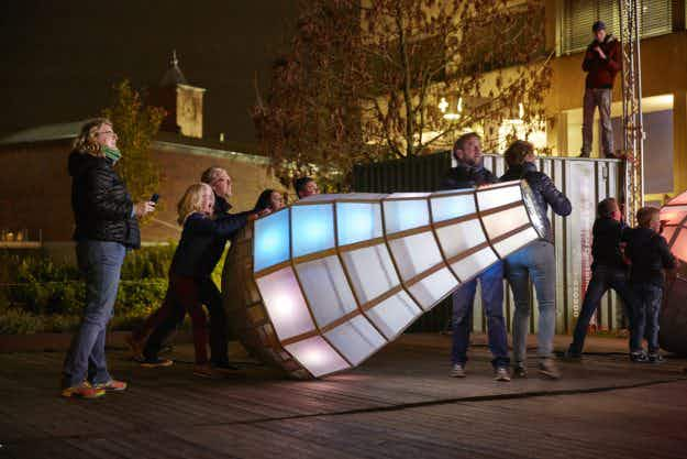 GLOW returns to light up the city of Eindhoven in the Netherlands