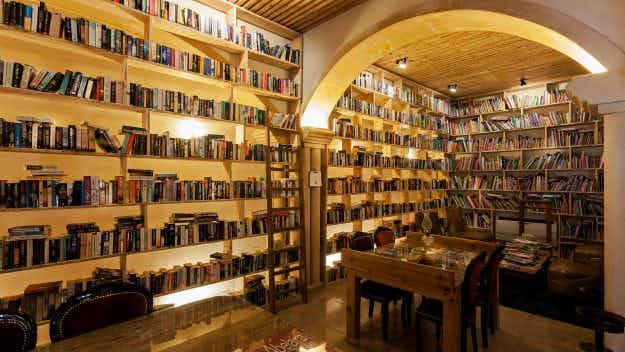 This quirky Portuguese hotel with 45,000 books is a bibliophile's dream