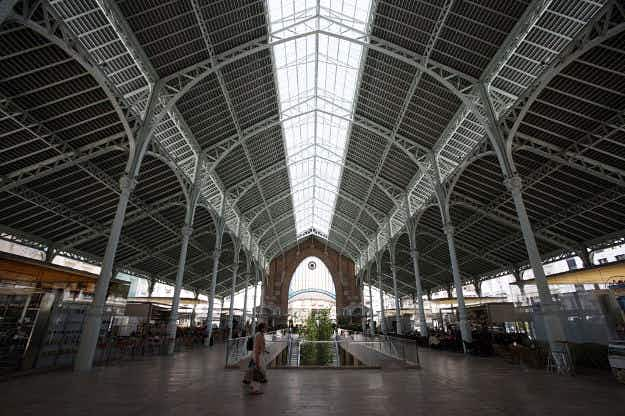Valencia's historic Mercado Central market celebrates 100th birthday this month