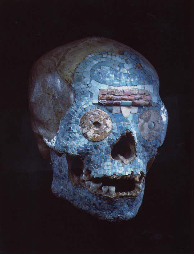 A Dutch museum has incorporated a fake Mixtec skull into its collection