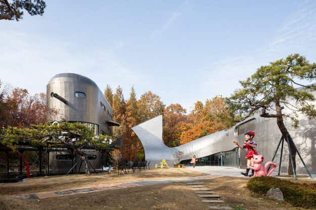 This whimsical Pinocchio museum has been brought to life in South Korea