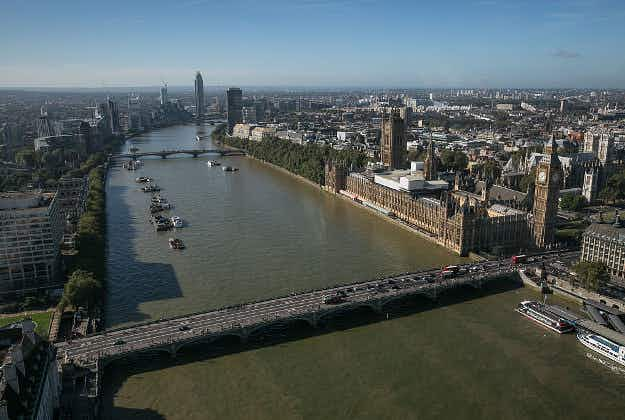 London zip line will connect Houses of Parliament to South Bank