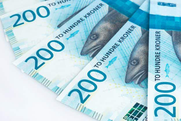 Norway's new bank notes have been revealed and are on display in Oslo