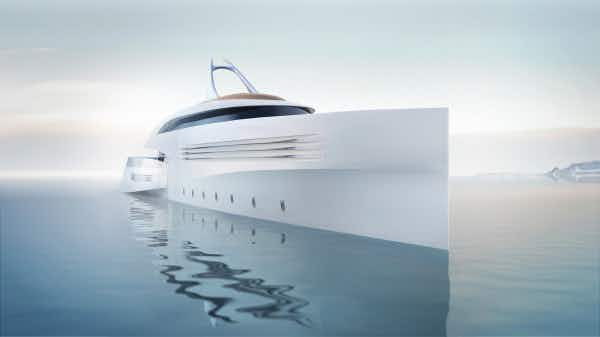 This is the concept superyacht that comes with its own drone