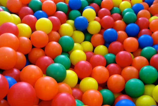 Relive your childhood with London's latest novelty - a bar with a ball pit