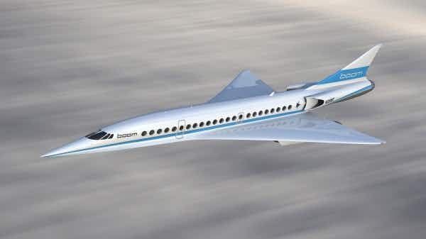 London to New York in 3 1/2 hours? This mini supersonic jet could be even faster than Concorde