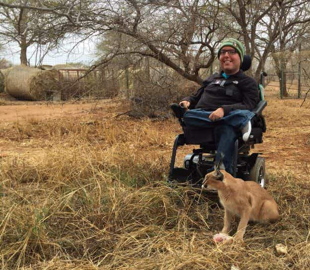 Meet Cory Lee, the man inspiring travellers who use wheelchairs to see the world