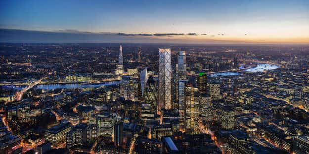 London gives a green light to the Trellis, the second-tallest skyscraper in Europe
