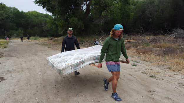 Meet the backpackers who cleaned up thousands of miles of US hiking trails