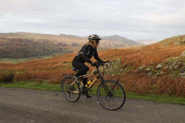 This woman is about to cycle 6000 miles from Colombia to Cape Horn on a bamboo bicycle