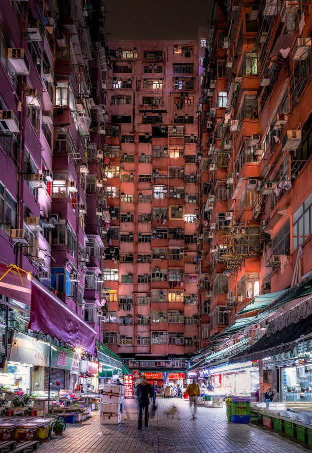 Photographer shares stunning pictures of Hong Kong inspired by Ghost in the Shell anime