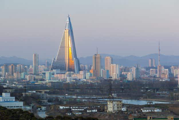 After 30 years lying idle, is North Korea's infamous Hotel of Doom finally going to open?