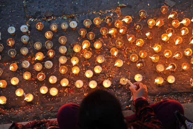 In pictures: the incredible Bala Chaturdashi festival in Nepal honouring lost loved ones